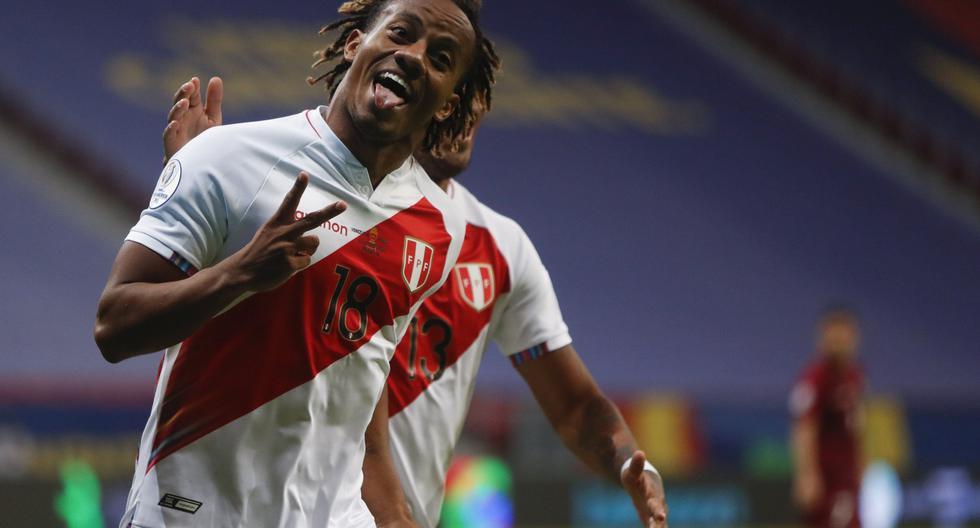 André Carrillo es el máximo goleador de Perú post Mundial, con cinco tantos. (Foto: AP)