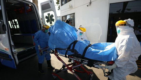 La cantidad de pacientes fallecidos aumentó este martes. (Foto: GEC)