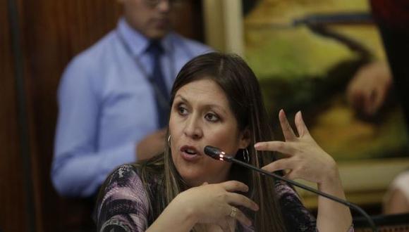 """Yeni Vilcatoma consideró que Antauro Humala es """"un líder nato"""". (Foto: GEC)"""