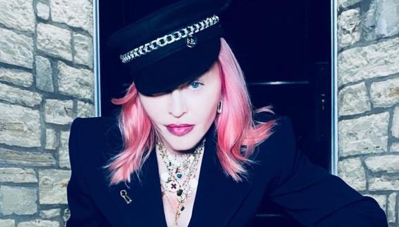 Madonna se hizo su primer tatuaje y compartió el resultado en Instagram. (Foto: @madonna)