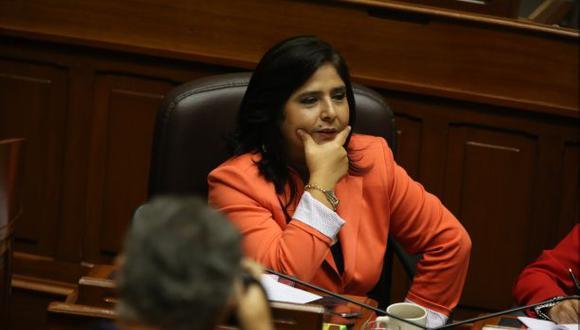 Oposición pide gesto político para votar a favor de Ana Jara