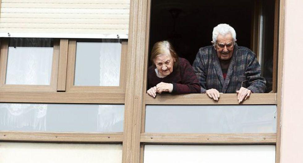 Las residencias de ancianos literalmente no dan abasto. Foto: GETTY IMAGES, vía BBC Mundo