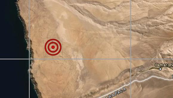 Sismo de 4.9 grados remeció Tacna en pleno estado de emergencia. (IGP)