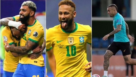 Perú vs. Brasil: Tite probó con nuevo tridente conformado por Neymar, 'Gabigol' y Everton