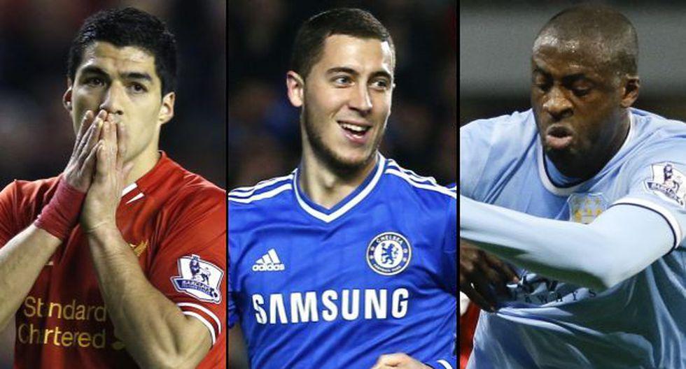 Ellos son los nominados a mejor jugador de la Premier League
