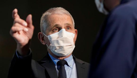 Dr. Anthony Fauci, director del Instituto Nacional de Alergias y Enfermedades infecciosas. (Foto: Reuters)