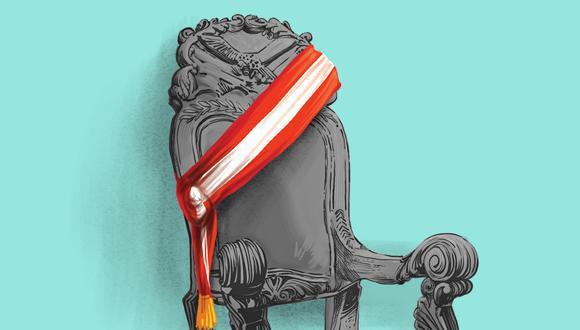 """""""Ese lastre de haber gobernado, que no es más que el uso de un voto retrospectivo, se torna evidente cuando expresidentes, tras esperar el período de ley, se presentan nuevamente como candidatos"""". (Ilustración: El Comercio)"""