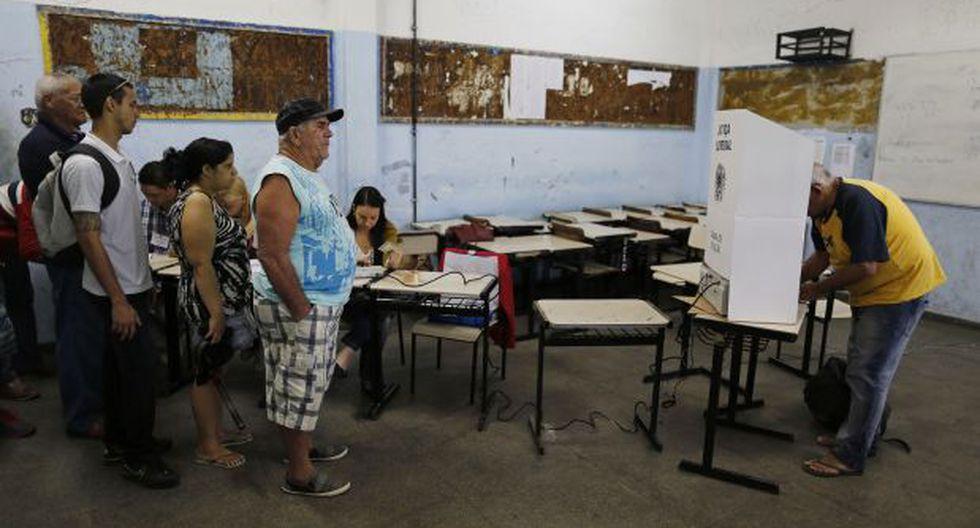 Brasil contó 116 millones de votos en menos de 3 horas