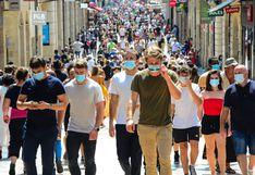 Francia confirma rebrote del coronavirus al reportar más de 3.300 contagios en un día