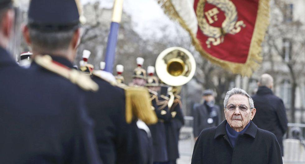 El histórico viaje de Raúl Castro a Francia [FOTOS] - 2