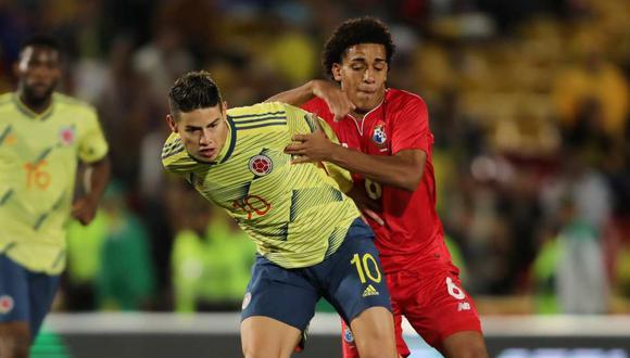 James Rodríguez confirmado para jugar frente a la selección peruana. (Foto: Reuters)