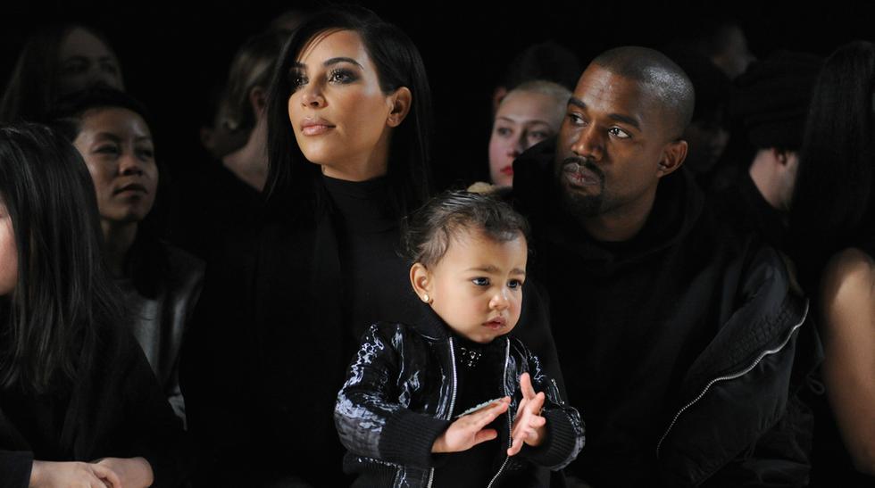 Hija de Kim Kardashian hizo berrinche en la Semana de la Moda - 13