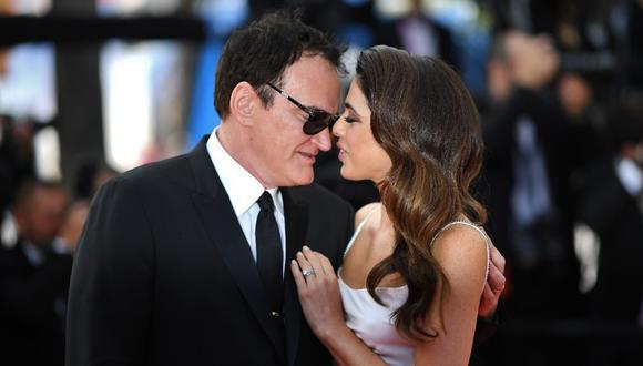 Quentin Tarantino se convirtió en padre. (Foto: AFP)