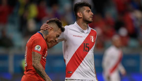 Zambrano podría reaparecer ante Chile el jueves 7 de octubre. (Foto: AFP)