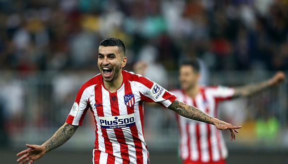 Un Atlético con mucha 'Correa': los colchoneros remontaron 3-2 al Barcelona y jugarán la final de Supercopa de España. (Getty Images)