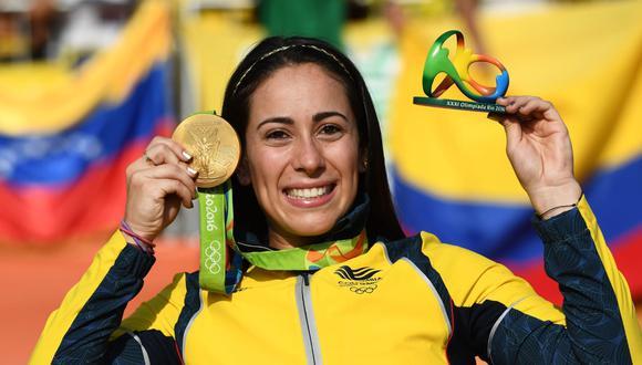 Mariana Pajón es la representante de Colombia en Ciclismo BMX.