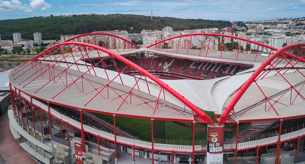 La fase final de la Champions League se desarrollará en el estadio Da Luz de Benfica y en el José Alvalade de Sporting de Lisboa   Foto: AP/EFE/AFP