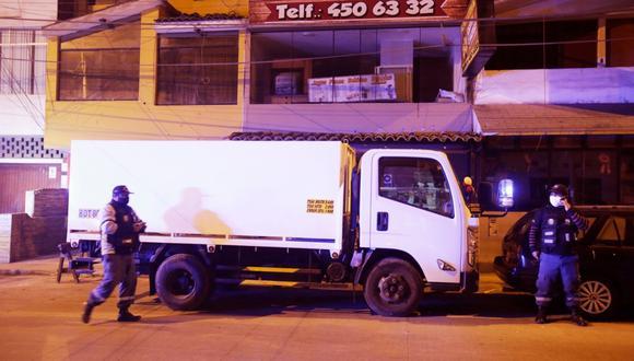 El camión servía para abastecer de oxígeno medicinal a las personas afectadas por el COVID-19. (Foto: César Grados/ GEC)