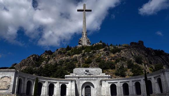San Lorenzo del Escorial, en el Valle de los Caídos, cerca de Madrid, un monumento a los combatientes franquistas que murieron durante la Guerra Civil española. (Foto: AFP)