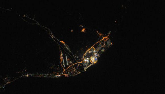 Así se ve Sochi desde el espacio