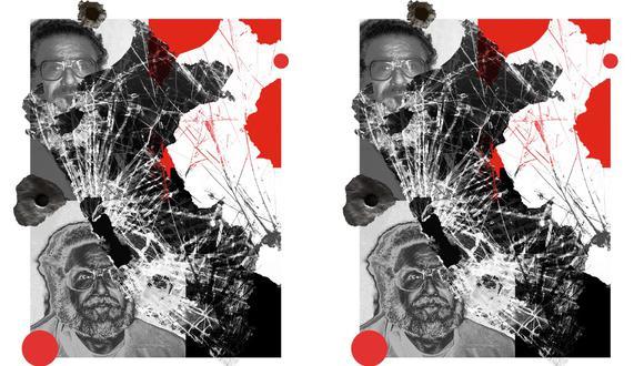 """""""El genocida cayó preso 12 años después de iniciar unilateralmente una lucha armada que desencadenó el período más violento de nuestra historia"""". (Ilustración: Giovanni Tazza)."""