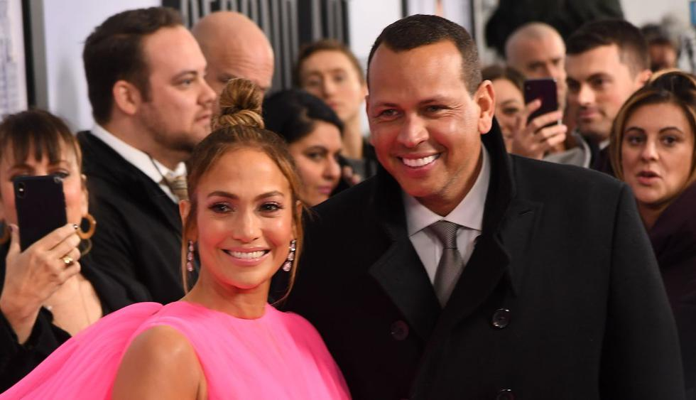 Jennifer Lopez fue la más ovacionada en el estreno mundial de la película 'Second Act'. Llegó acompañada de su novio Alex Rodríguez. (Foto: AFP)