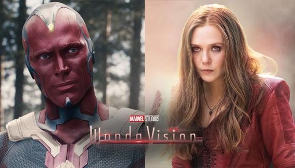 "De izquierda a derecha: captura de Vision en ""Avengers: Infinity War"" y Wanda en ""Avengers: Endgame"". (Foto: Marvel Studios)"