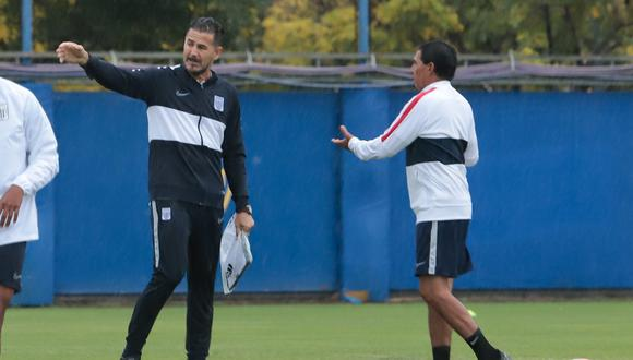 Daniel Ahmed llegó a Alianza Lima este año. (GEC)
