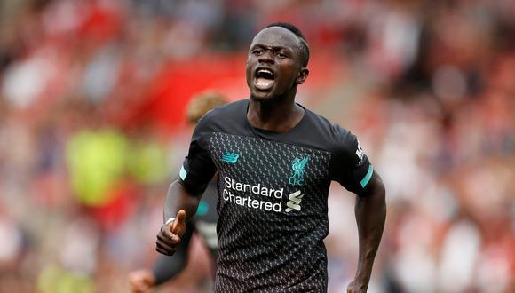 Sadio Mané convirtió el 1-0 con un espectacular remate | Foto: Reuters