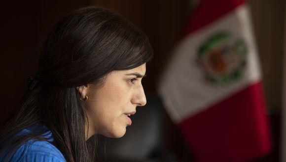 La ministra María Antonieta Alva asumió la cartera del MEF desde el 3 de octubre de 2019. (Foto: José Rojas/GEC)