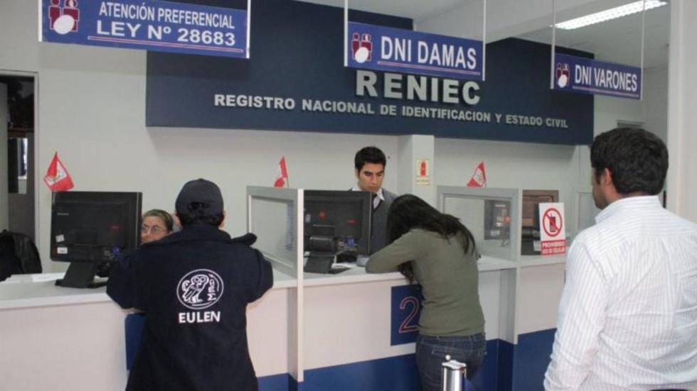 Conoce aquí cómo sacar una cita gratis EN LÍNEA a través de la página web de la RENIEC. (Foto: RENIEC)
