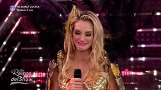 'Reinas del show 2′: Brenda Carvalho se emociona hasta las lágrimas tras recibir buenos comentarios por su baile
