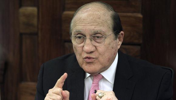 Fernando D'Alessio fue ministro de Salud de Pedro Pablo Kuczynski por tres meses y 25 días. (Foto: GEC)