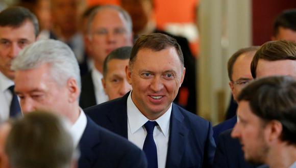 """El Departamento del Tesoro informó que """"levantó hoy las sanciones que se habían impuesto"""" en abril a tres empresas del oligarca Oleg Deripaska, vinculado al Kremlin. (AP)"""