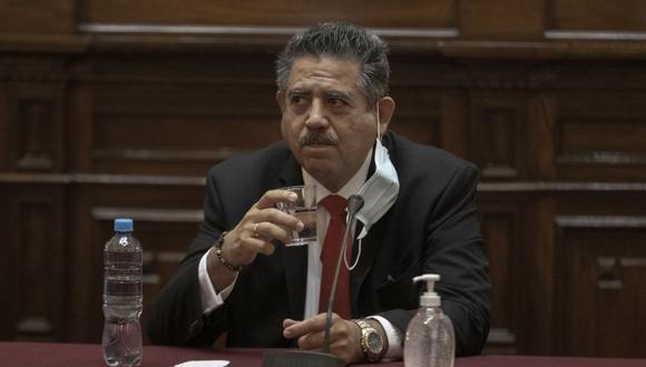 Manuel Merino de Lama, congresista de Acción Popular, fue uno de los principales protagonistas de la reciente crisis política en el Perú. (Foto: Renzo Salazar / GEC)