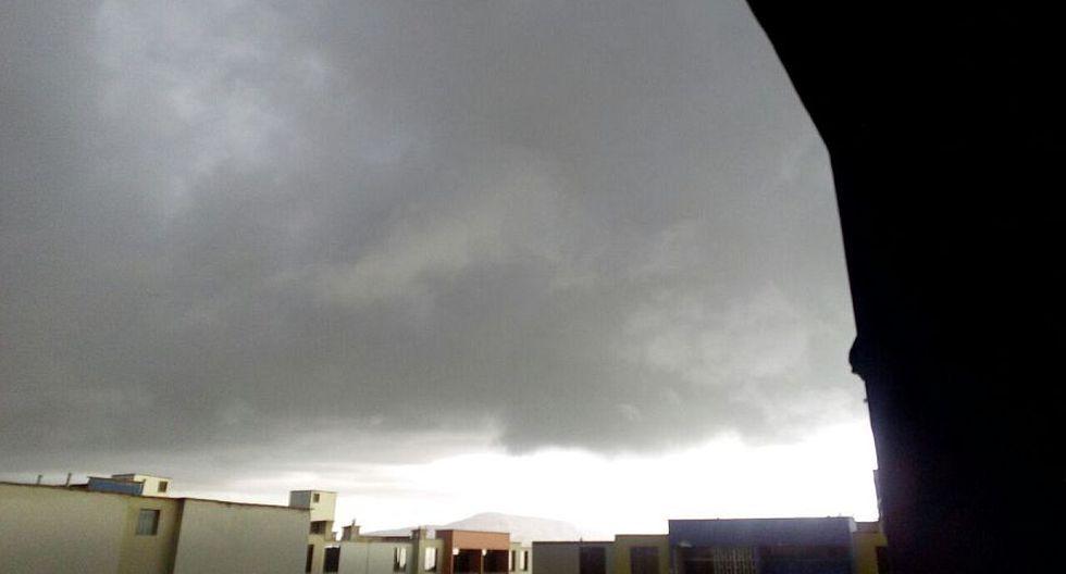 Lambayeque: inusual nubosidad oscura alarmó a chiclayanos - 8