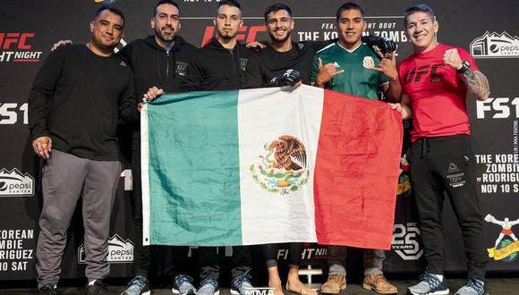 Yair Rodríguez vs. Chang Sung Jung EN VIVO vía Fox Sports: combate por UFC Fight Night Denver. (Foto: UFC Fight Night Denver)