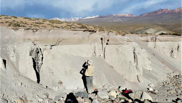 Tacna: volcán Tutupaca es considerado como el cuarto más activo del Perú y registra el mayor número de colapsos (Foto: Ingemmet)