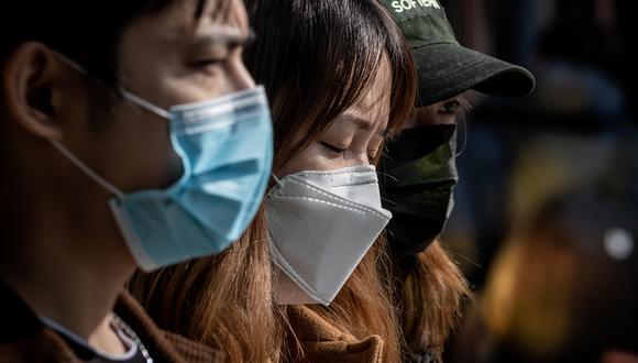 En China se reportan cada vez menos casos de Covid-19. (Foto: NICOLAS ASFOURI / AFP)