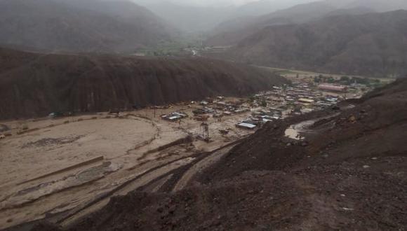 Indeci: huaico en Mirave fue cinco veces mayor al ocurrido en 2015