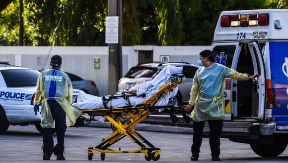 Coronavirus en Estados Unidos | Últimas noticias | Último minuto: reporte de infectados y muertos hoy, viernes 16 de abril del 2021 | Covid-19. (Foto: AFP / CHANDAN KHANNA).