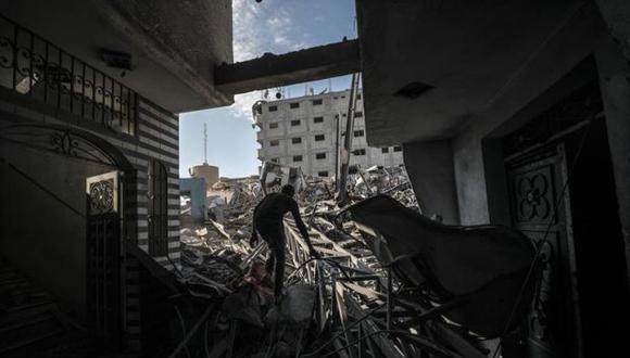 Siete milicianos palestinos y un soldado israelí murieron el pasado domingo traspeor escalada de violencia en la franja de Gaza desde 2014. (Foto: EFE)