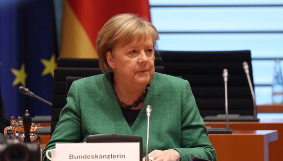 Angela Merkel, canciller alemana. (Foto: EFE)