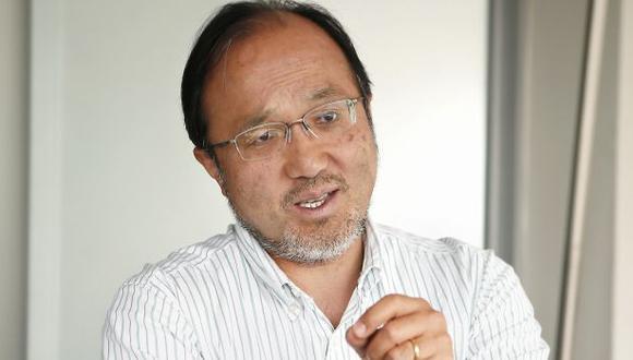 Tanaka cree que el futuro del Apra y Fuerza Popular dependerá del destino de los juicios a sus líderes. (Foto: Paco Sanseviero)