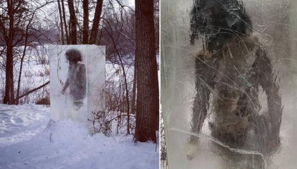 El 'cavernícola congelado' llamado 'Zug Zug' ha llamado fuertemente la atención en Internet. (Foto: @zachschumack / Instagram)