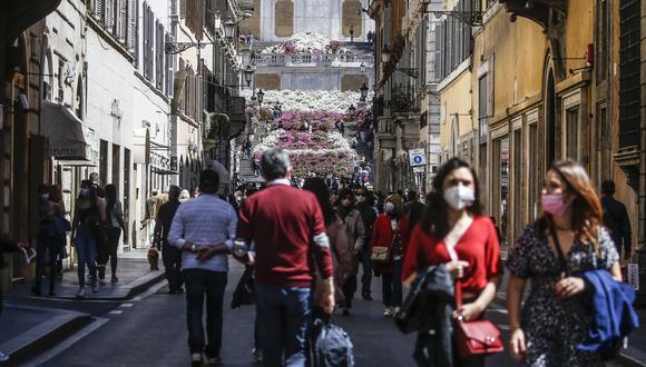 Coronavirus en Italia | Últimas noticias | Último minuto: reporte de infectados y muertos hoy, sábado 24 de abril del 2021 | COVID-19 |  (Foto:  EFE).