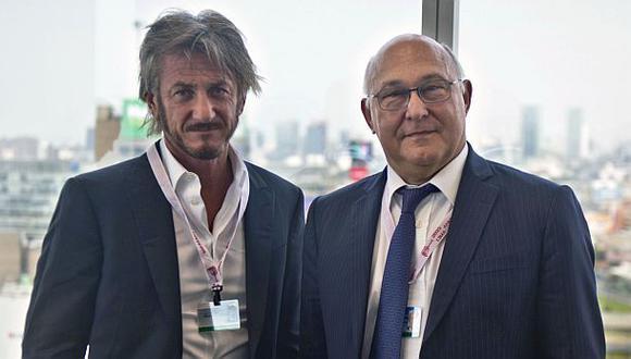 Sean Penn debate hoy en foro de emprendedores del Banco Mundial