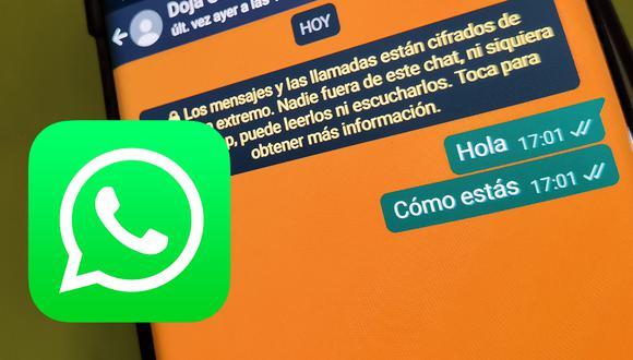 De esta forma podrás cambiar WhatsApp en color blanco, verde, azul, naranja. (Foto: MAG)