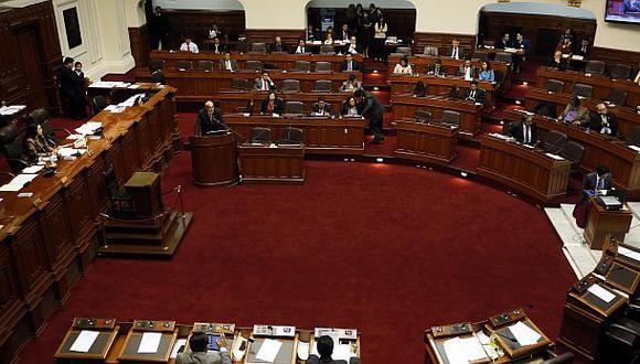 Casi vacío. Así lució el hemiciclo del Congreso el día de la interpelación al ministro de Energía y Minas, Eleodoro Mayorga. (Foto: Archivo El Comercio)
