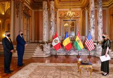 Nueva embajadora de EE.UU. en Perú presentó sus credenciales ante el presidente Francisco Sagasti